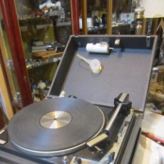 Radios antiguas: TOCADISCOS DUAL CON UN BAFLE. MEDIDA CERRADO: 36 X 43 X 18 CMS. ALTURA.. Lote 75461458