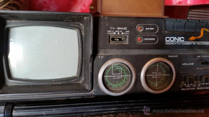 RADIOCASET CON TV (Radios, Gramófonos, Grabadoras y Otros - Transistores, Pick-ups y Otros)