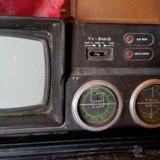 Radios antiguas: RADIOCASET CON TV. Lote 50023766