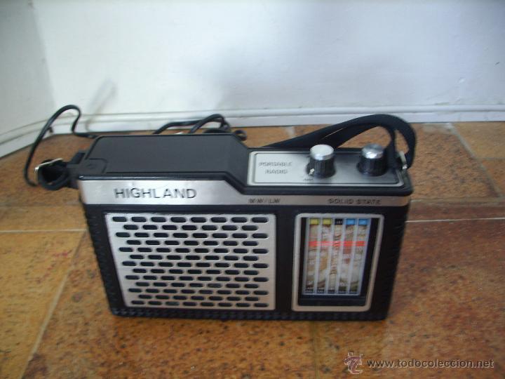 Radios antiguas: RADIO A TRANSISTORES HIIGHLAND - Foto 3 - 27524618