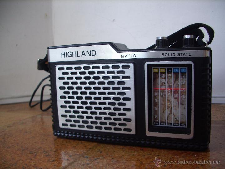 Radios antiguas: RADIO A TRANSISTORES HIIGHLAND - Foto 5 - 27524618