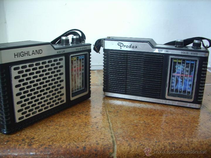 Radios antiguas: RADIO A TRANSISTORES HIIGHLAND - Foto 7 - 27524618