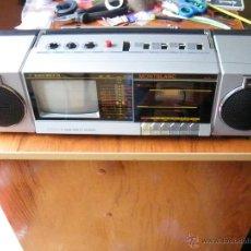 Radios antiguas: RADIO CASSETTE TELEVISION MONTBLANC COMO NUEVO . Lote 50496647
