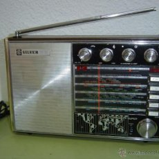 Radios antiguas: RADIO MULTIBANDAS SILVER VOYAGER SUPER. Lote 50677365