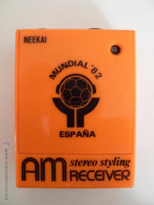 ANTIGUA RADIO MUNDIAL '82 (Radios, Gramófonos, Grabadoras y Otros - Transistores, Pick-ups y Otros)