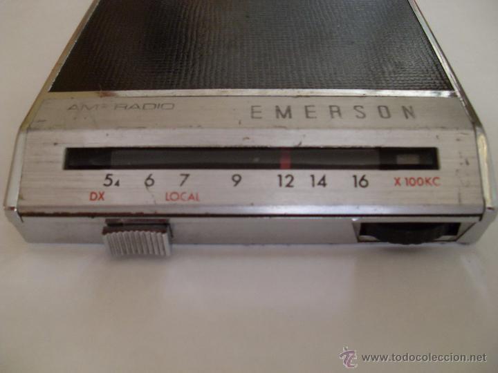 AUTORRADIO EMERSON . MODELO 50404. (Radios, Gramófonos, Grabadoras y Otros - Transistores, Pick-ups y Otros)
