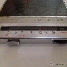 Radios antiguas: AUTORRADIO EMERSON . MODELO 50404.. Lote 50678315