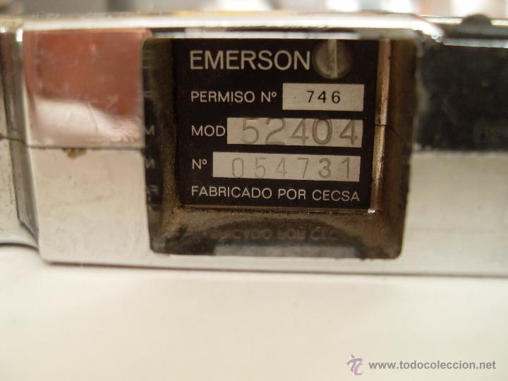 Radios antiguas: autorradio EMERSON . Modelo 50404. - Foto 2 - 50678315