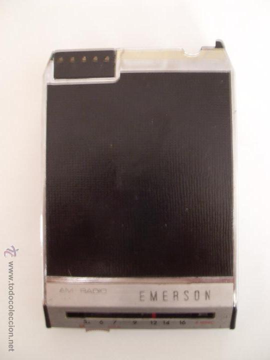 Radios antiguas: autorradio EMERSON . Modelo 50404. - Foto 3 - 50678315