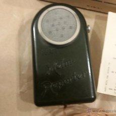 Radios antiguas: MICROFONO DE BAQUELITA R.F.T HEIM REPORTER. Lote 50695089