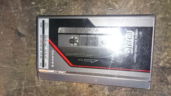 RADIO CASETTE SANIO (Radios, Gramófonos, Grabadoras y Otros - Transistores, Pick-ups y Otros)