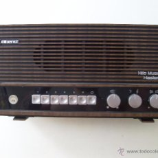Radios antiguas: RADIO, HILO MUSICAL HASLER - ALBENIZ-. Lote 50788771