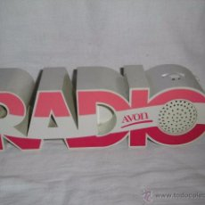 Radios antiguas: RADIO TRANSISTOR. PUBLICIDAD DE AVON. AÑOS 70. Lote 50873825