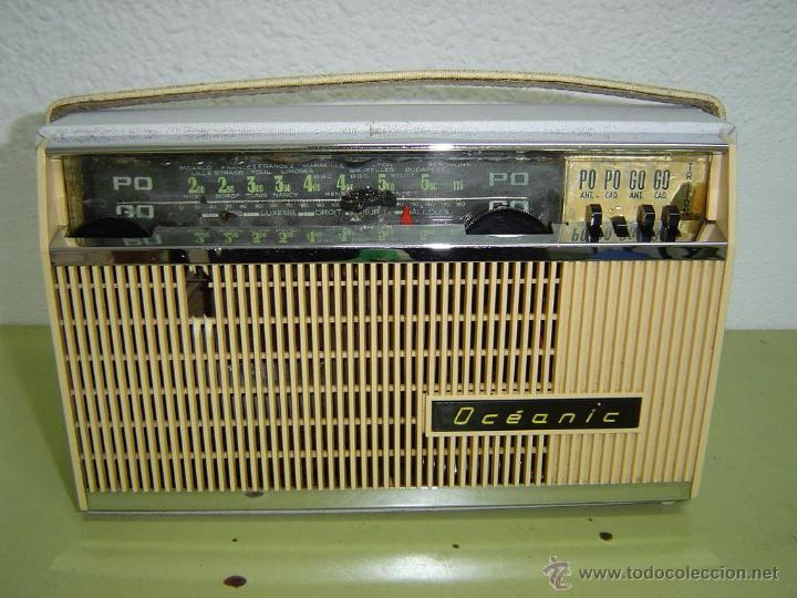 ANTIGUA RADIO OCEANC TRITON (Radios, Gramófonos, Grabadoras y Otros - Transistores, Pick-ups y Otros)