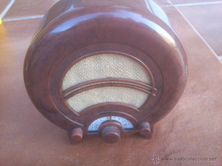 REPRODUCCION RADIO EKCO AD36 UK 1935 MINIATURA MADE IN PRC (Radios, Gramófonos, Grabadoras y Otros - Transistores, Pick-ups y Otros)