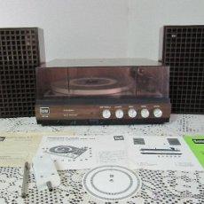 Radios antiguas: PLATO TOCADISCOS BETTOR EF-143. COMPLETO, CON ALTAVOCES, MANUAL DE INSTRUCCIONES.... Lote 51451178