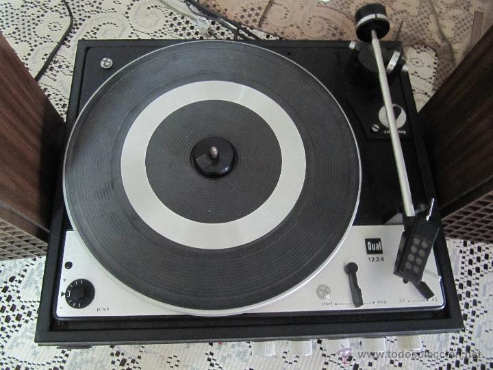 Radios antiguas: PLATO TOCADISCOS BETTOR EF-143. COMPLETO, CON ALTAVOCES, MANUAL DE INSTRUCCIONES... - Foto 3 - 51451178