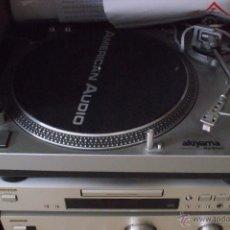 Radios antiguas: PLATO GIRADISCOS TRACCION DIRECTA AKIYAMA.. Lote 153070437