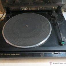 Radios antiguas: TOCADISCOS JVC AL-A150 FUNCIONANDO. Lote 51600155