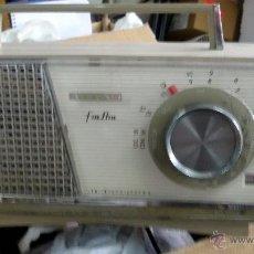 Radios antiguas: RADIO VANGUARD MODELO ATLAS PLASTICO ENCHUFE. Lote 51659670