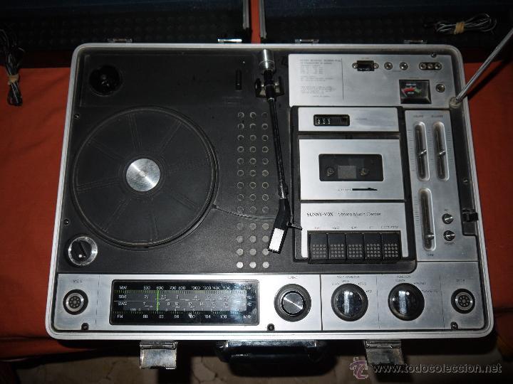 Radios antiguas: CENTRO MUSICAL SUNNY-VOX-6000( MADE IN JAPAN ),VINTAGE ,FUNCIONA PERFECTAMENTE.VER FOTOS. - Foto 2 - 51810522
