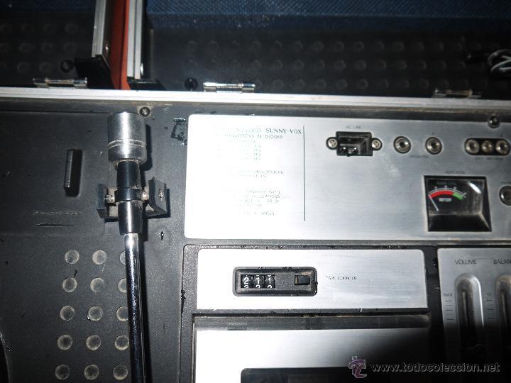 Radios antiguas: CENTRO MUSICAL SUNNY-VOX-6000( MADE IN JAPAN ),VINTAGE ,FUNCIONA PERFECTAMENTE.VER FOTOS. - Foto 3 - 51810522