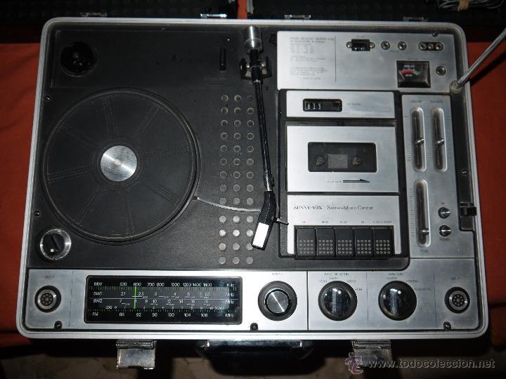 Radios antiguas: CENTRO MUSICAL SUNNY-VOX-6000( MADE IN JAPAN ),VINTAGE ,FUNCIONA PERFECTAMENTE.VER FOTOS. - Foto 6 - 51810522
