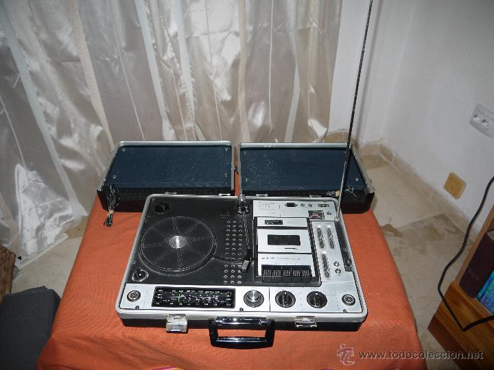 Radios antiguas: CENTRO MUSICAL SUNNY-VOX-6000( MADE IN JAPAN ),VINTAGE ,FUNCIONA PERFECTAMENTE.VER FOTOS. - Foto 7 - 51810522