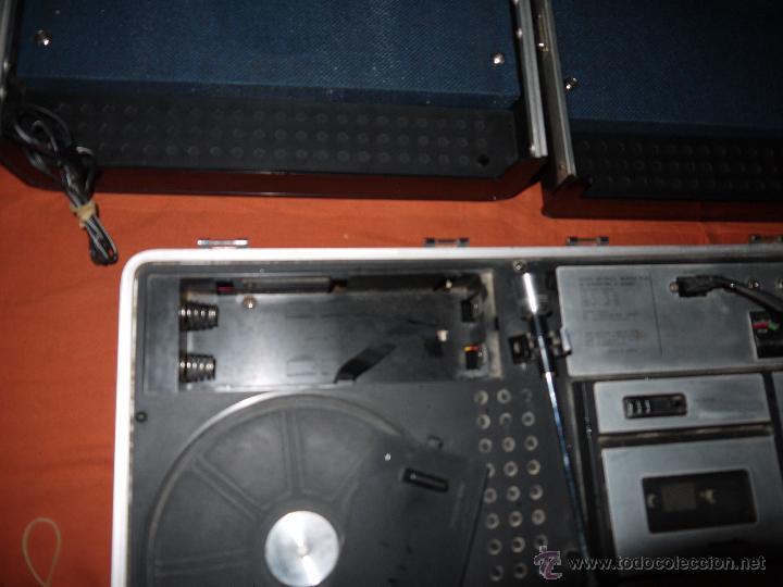 Radios antiguas: CENTRO MUSICAL SUNNY-VOX-6000( MADE IN JAPAN ),VINTAGE ,FUNCIONA PERFECTAMENTE.VER FOTOS. - Foto 8 - 51810522