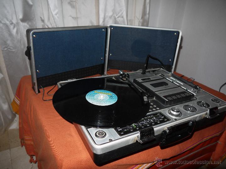 Radios antiguas: CENTRO MUSICAL SUNNY-VOX-6000( MADE IN JAPAN ),VINTAGE ,FUNCIONA PERFECTAMENTE.VER FOTOS. - Foto 9 - 51810522