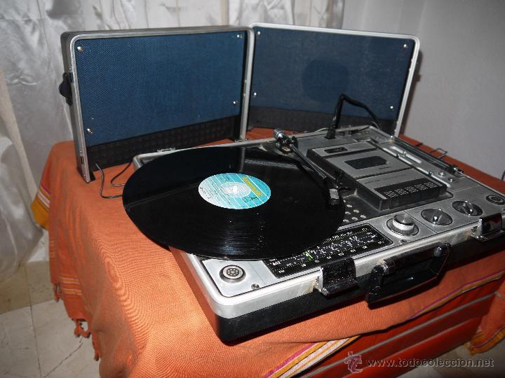 Radios antiguas: CENTRO MUSICAL SUNNY-VOX-6000( MADE IN JAPAN ),VINTAGE ,FUNCIONA PERFECTAMENTE.VER FOTOS. - Foto 10 - 51810522