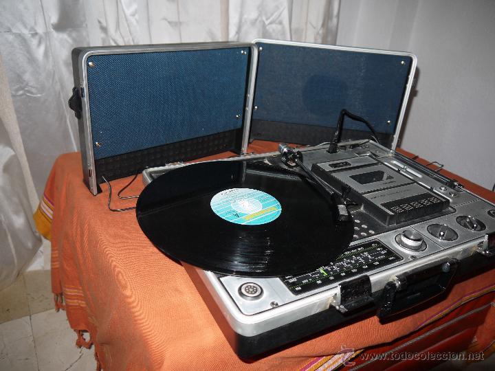 Radios antiguas: CENTRO MUSICAL SUNNY-VOX-6000( MADE IN JAPAN ),VINTAGE ,FUNCIONA PERFECTAMENTE.VER FOTOS. - Foto 11 - 51810522