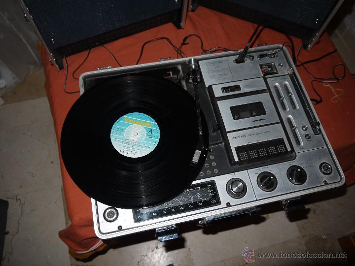Radios antiguas: CENTRO MUSICAL SUNNY-VOX-6000( MADE IN JAPAN ),VINTAGE ,FUNCIONA PERFECTAMENTE.VER FOTOS. - Foto 12 - 51810522