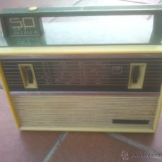 Radios antiguas: VEF SPIDOLA MULTIBANDAS 5O ANIVERSARIO RUSIA VINTAGE DIFICIL. Lote 51968667