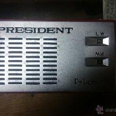 Radios antiguas: RADIO PRESIDENT. Lote 52354912