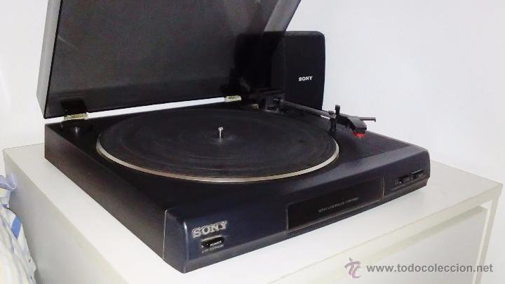 Radios antiguas: TOCADISCOS SONY - PS-LX56 - Foto 7 - 49655395