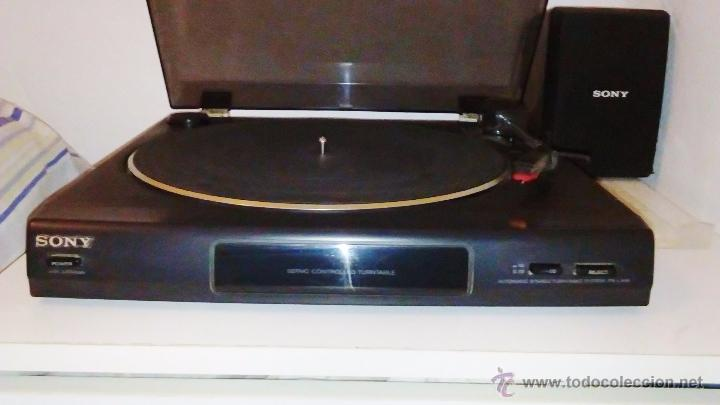 Radios antiguas: TOCADISCOS SONY - PS-LX56 - Foto 8 - 49655395
