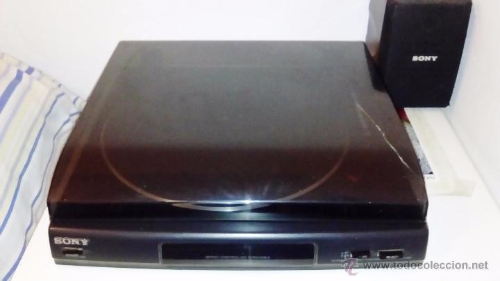 Radios antiguas: TOCADISCOS SONY - PS-LX56 - Foto 10 - 49655395