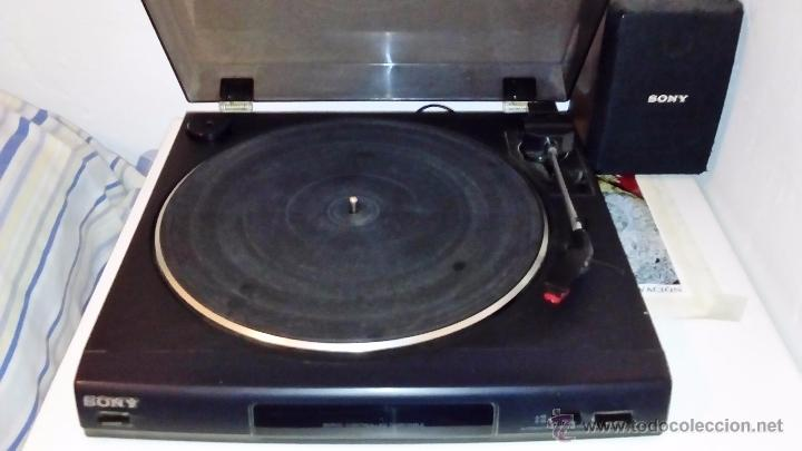 Radios antiguas: TOCADISCOS SONY - PS-LX56 - Foto 12 - 49655395