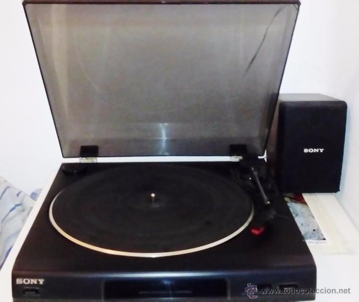 Radios antiguas: TOCADISCOS SONY - PS-LX56 - Foto 13 - 49655395