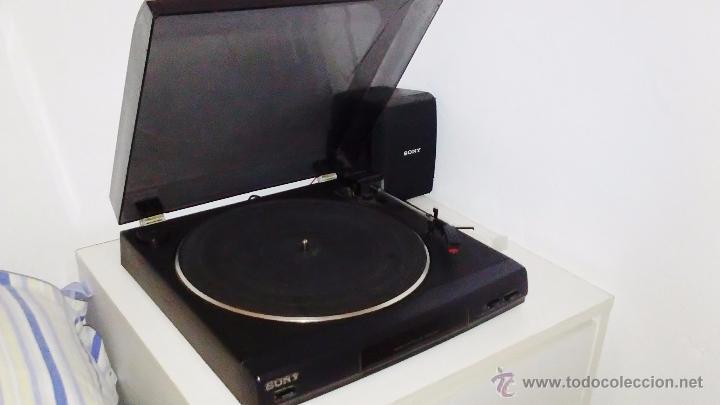 Radios antiguas: TOCADISCOS SONY - PS-LX56 - Foto 17 - 49655395