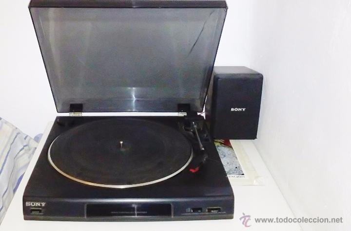 Radios antiguas: TOCADISCOS SONY - PS-LX56 - Foto 19 - 49655395