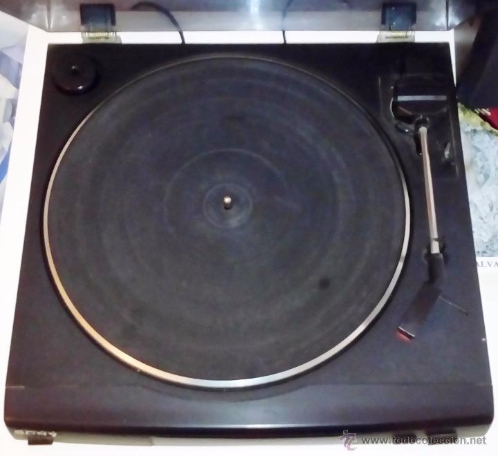 Radios antiguas: TOCADISCOS SONY - PS-LX56 - Foto 23 - 49655395