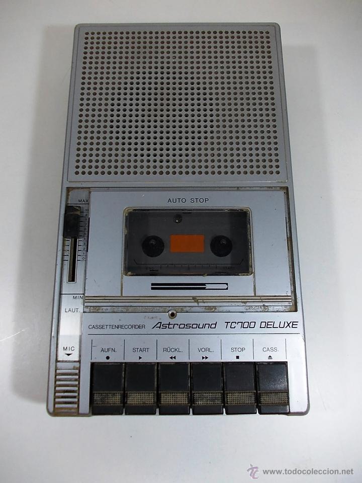 RADIO CASETTE ASTRO SOUND (Radios, Gramófonos, Grabadoras y Otros - Transistores, Pick-ups y Otros)