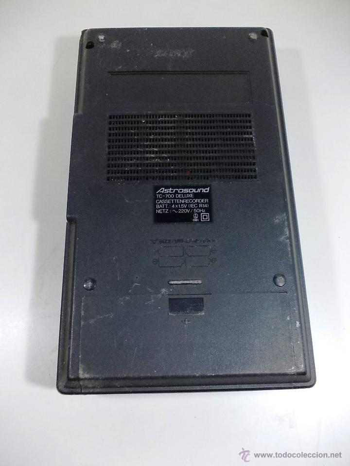 Radios antiguas: RADIO CASETTE ASTRO SOUND - Foto 4 - 52704466
