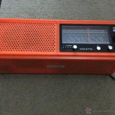 Radios antiguas: RADIO ITT VIOLETTA. Lote 52748498