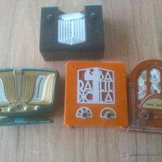 Radios antiguas: REPLICAS EN MINIATURA. Lote 52821902