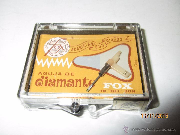 Radios antiguas: Antigua Aguja de Diamante FOX Tipo 25 DST-ZST - PHILIPS - Foto 3 - 52849537