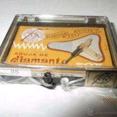 Radios antiguas: ANTIGUA AGUJA DE DIAMANTE FOX TIPO 25 DST-ZST - PHILIPS. Lote 52849626