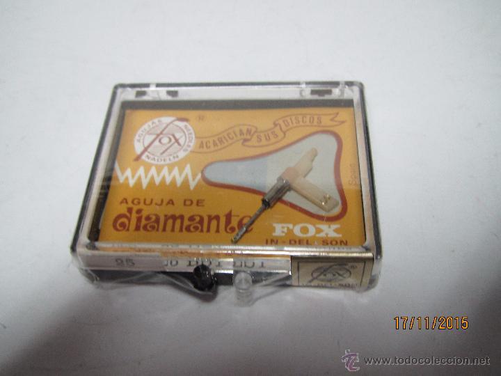 Radios antiguas: Antigua Aguja de Diamante FOX Tipo 25 DST-ZST - PHILIPS - Foto 2 - 52849626